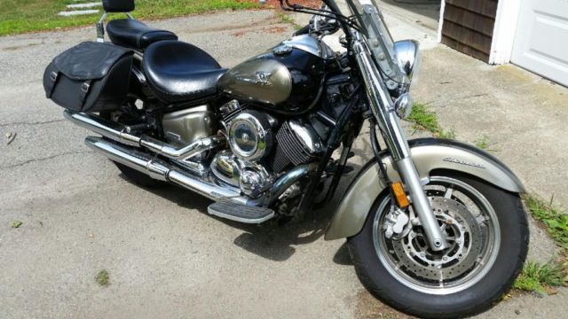 nice 2005 vstar with bags floorboards windshield
