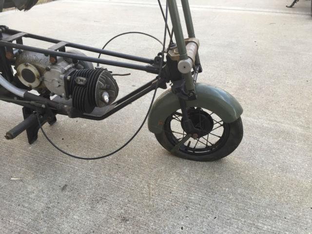 Original WWII Era Brockhouse Corgi Welbike British Scooter ...