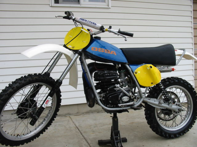 Ossa Gpiii Vintage Motorcycle
