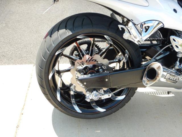 pearl white custom 2012 hayabusa 330 rear tire with