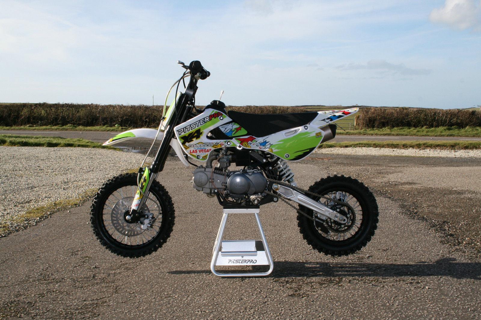 Pitster Pro X4 Klx110 Style Pitbike Pit Dirt Bike Pitsterpro Upower 125cc
