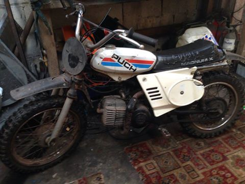 puch magnum x childs motor bike motorcycle classic retro