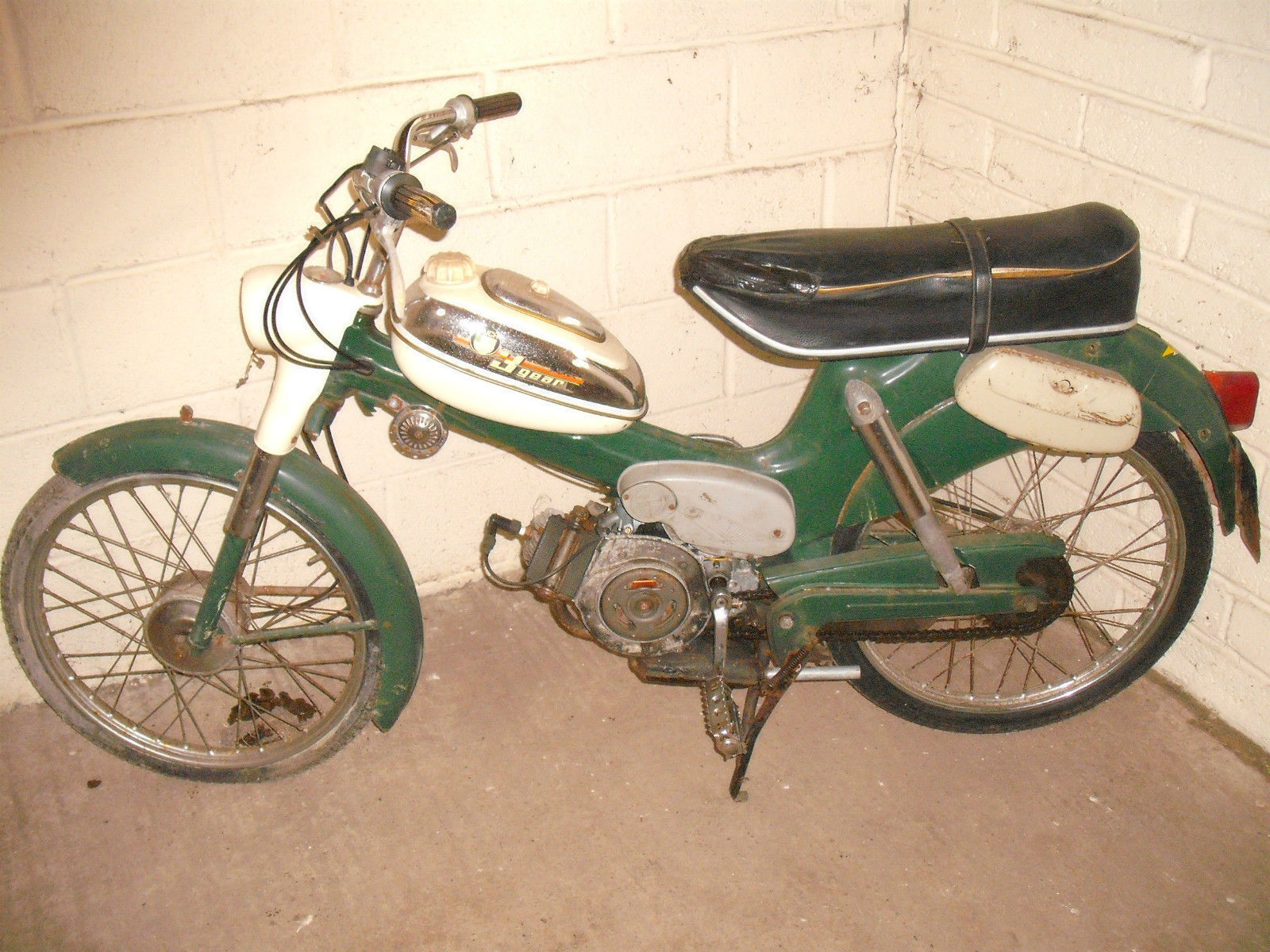 PUCH Moped MS50D 1973 3 Speed Classic Moped