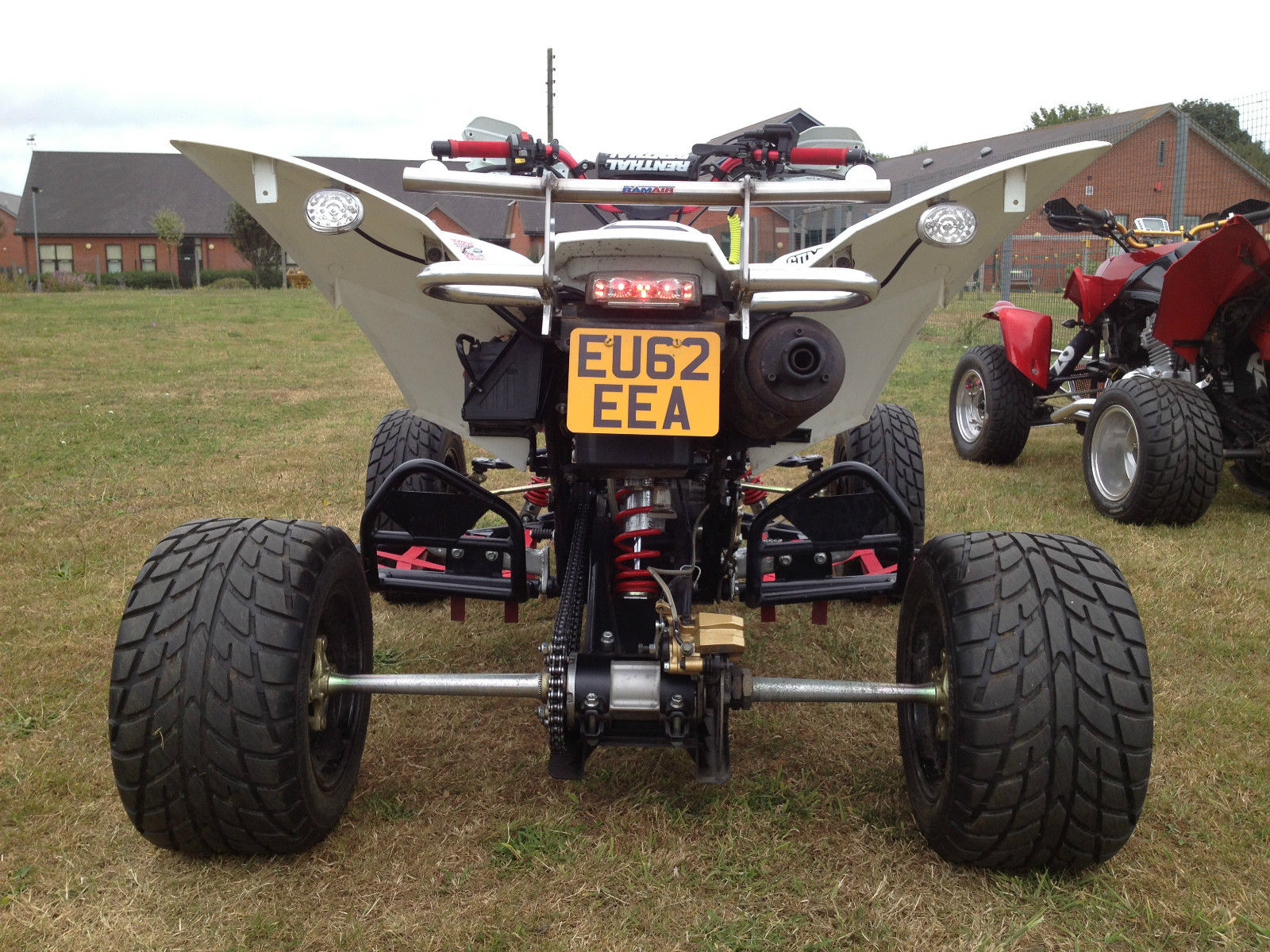 Set of Aftermarket Alloy Rear Wheel Spacers to fit a Quadzilla 500XLC Quad Bike
