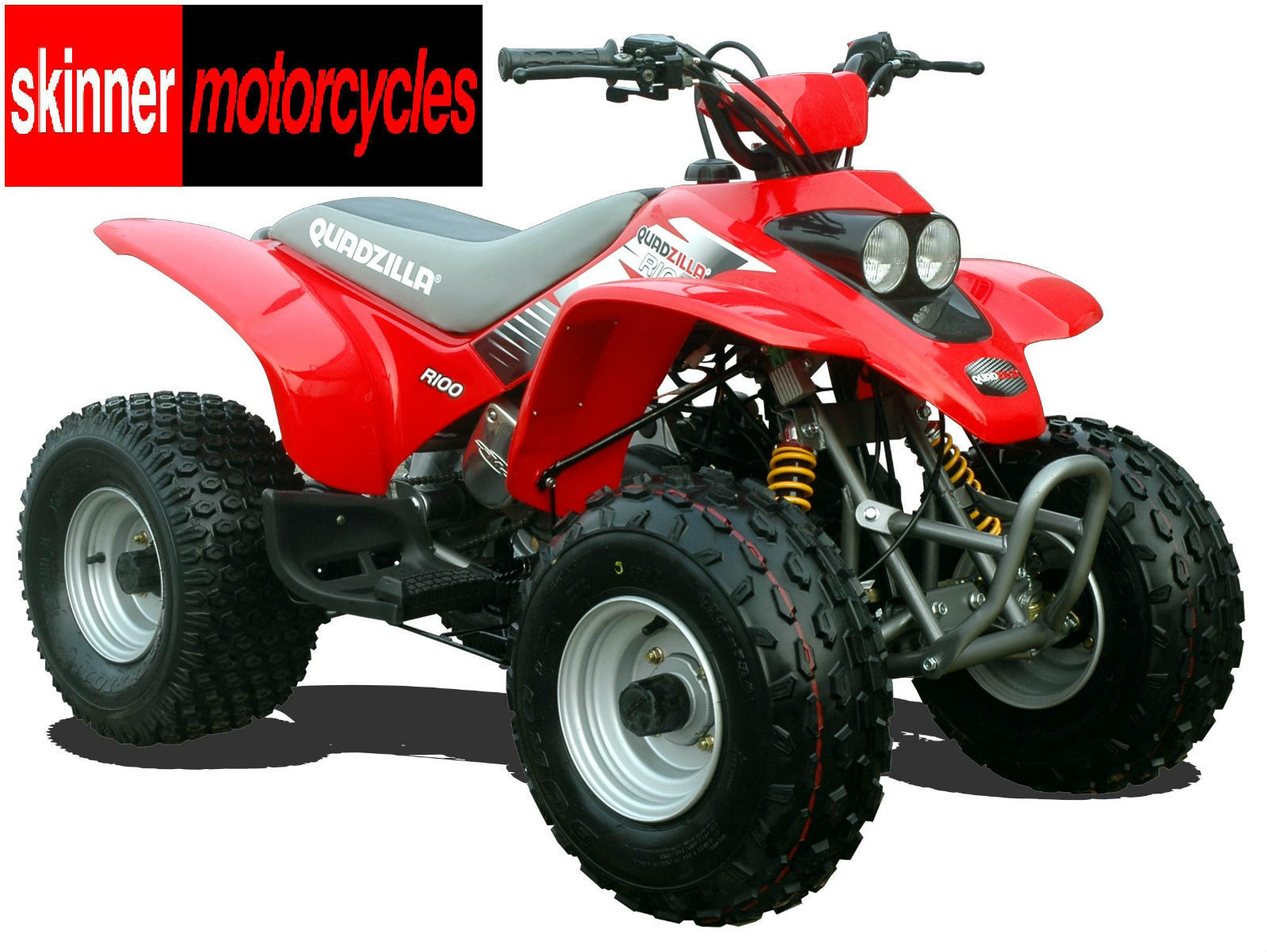 quadzilla r100 junior quad bike atv 100cc cvt auto with reverse buggy. Black Bedroom Furniture Sets. Home Design Ideas