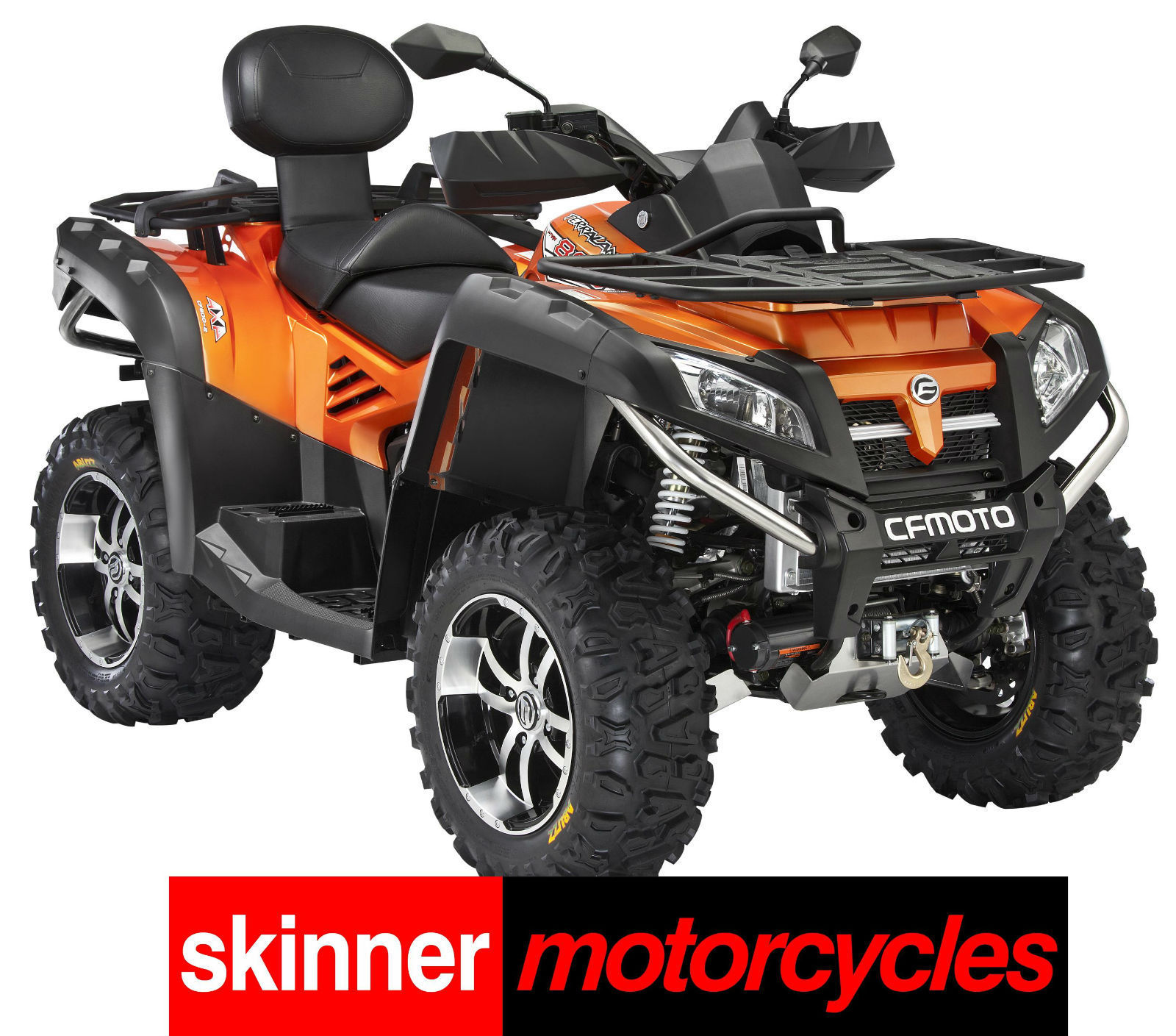 V Twin Quad Engine: QUADZILLA X8 EPS 4x4 EFI V-TWIN ELECTRONIC POWER STEERING