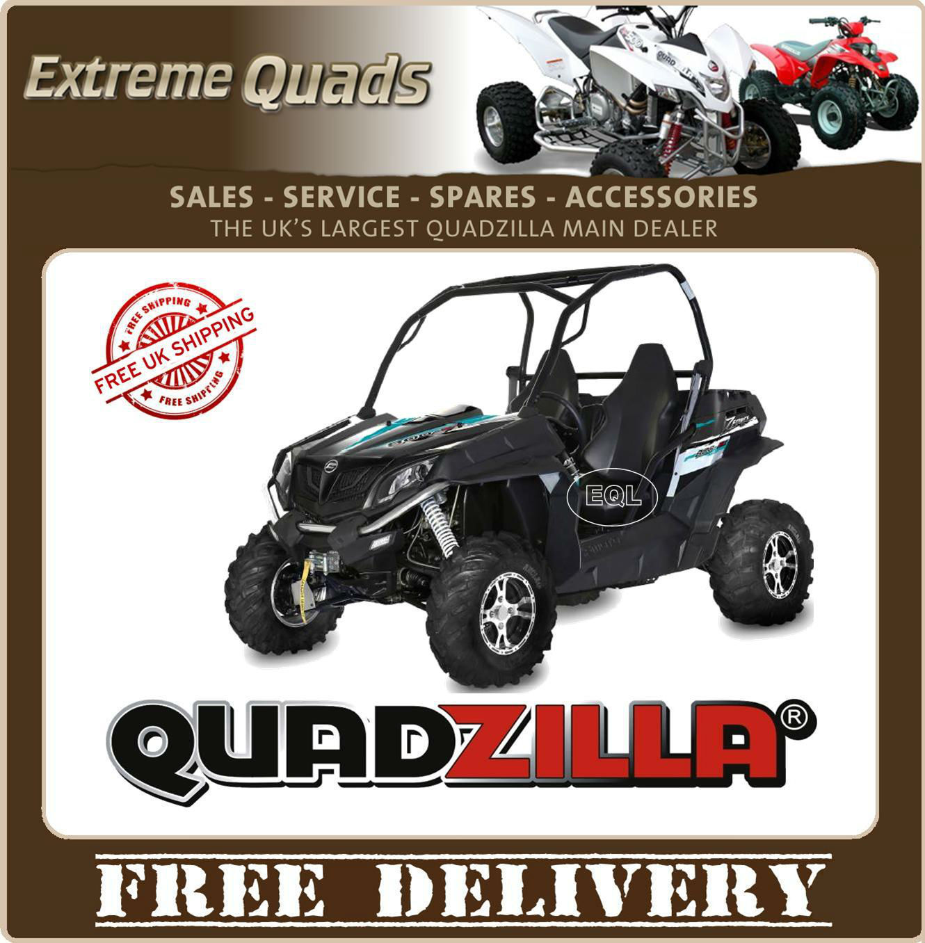Quadzilla Z8 Cfmoto Road Legal Buggy Largest Dealer In Lincolnshire