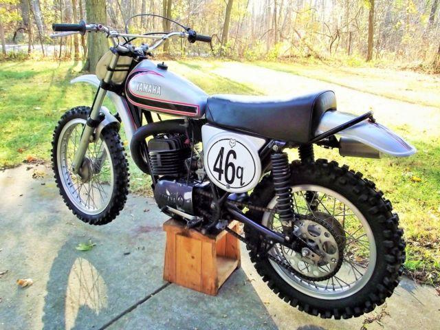 Rare 1972 yamaha rt2 mx360 1st year factory mx 360 arhma for Yamaha 360 enduro