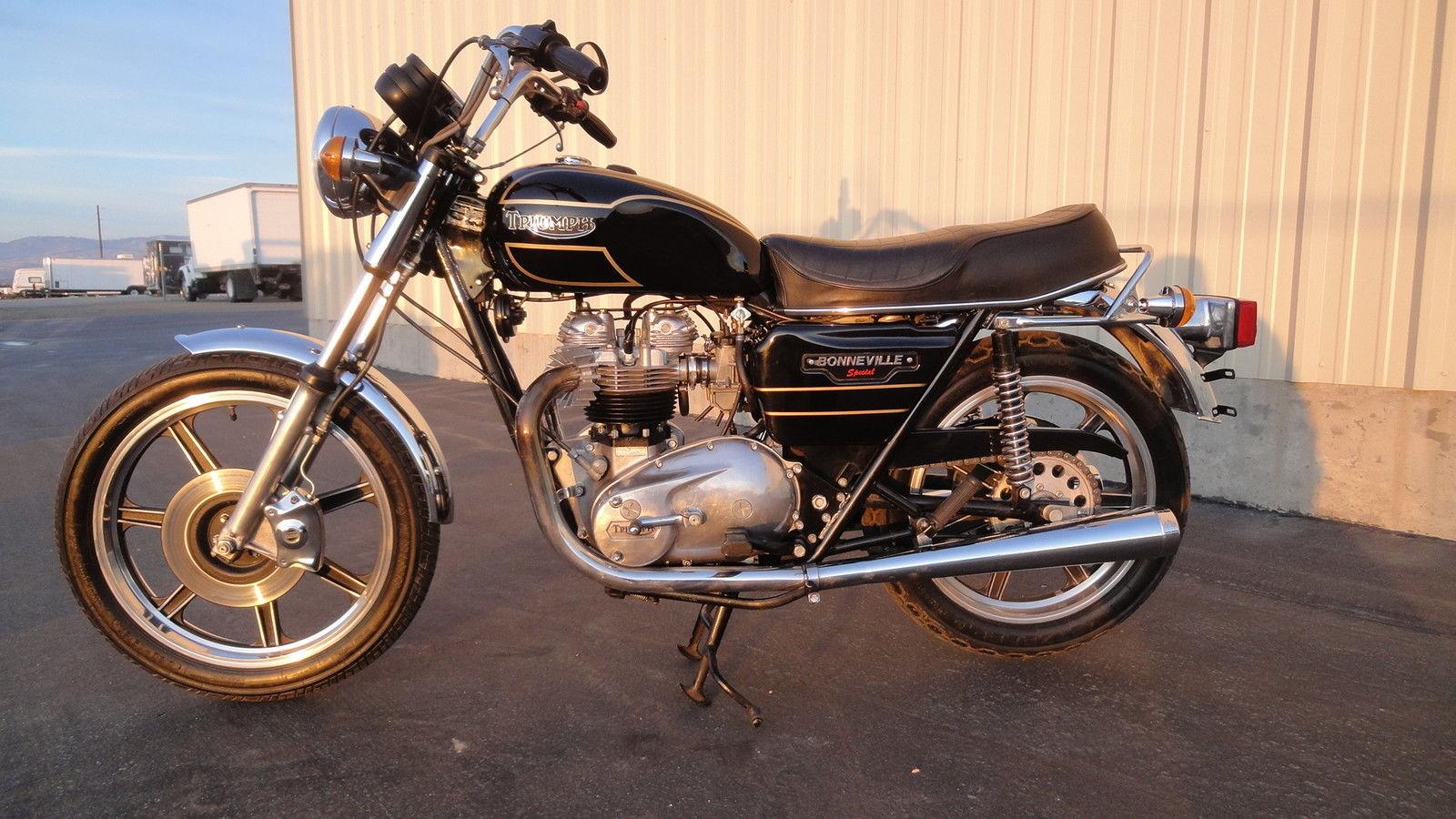 Rare 1979 Triumph T140D Special *Low Miles* NO RESERVE