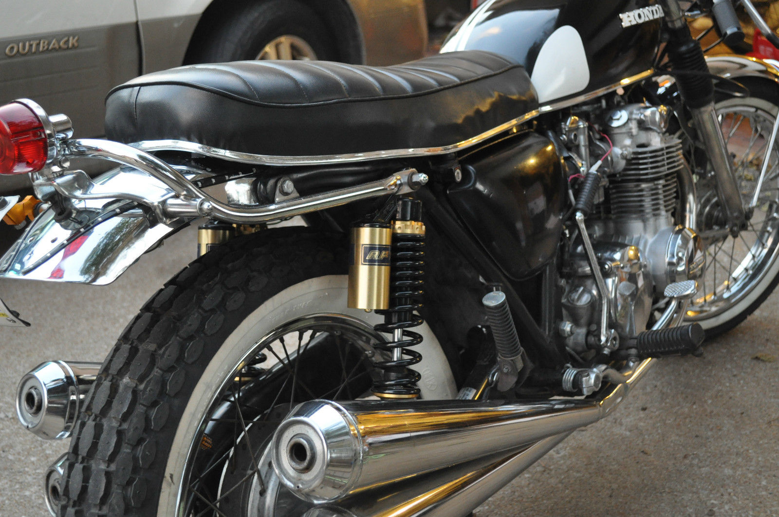 resto mod: honda cb550 k four series tribute build custom cafe racer