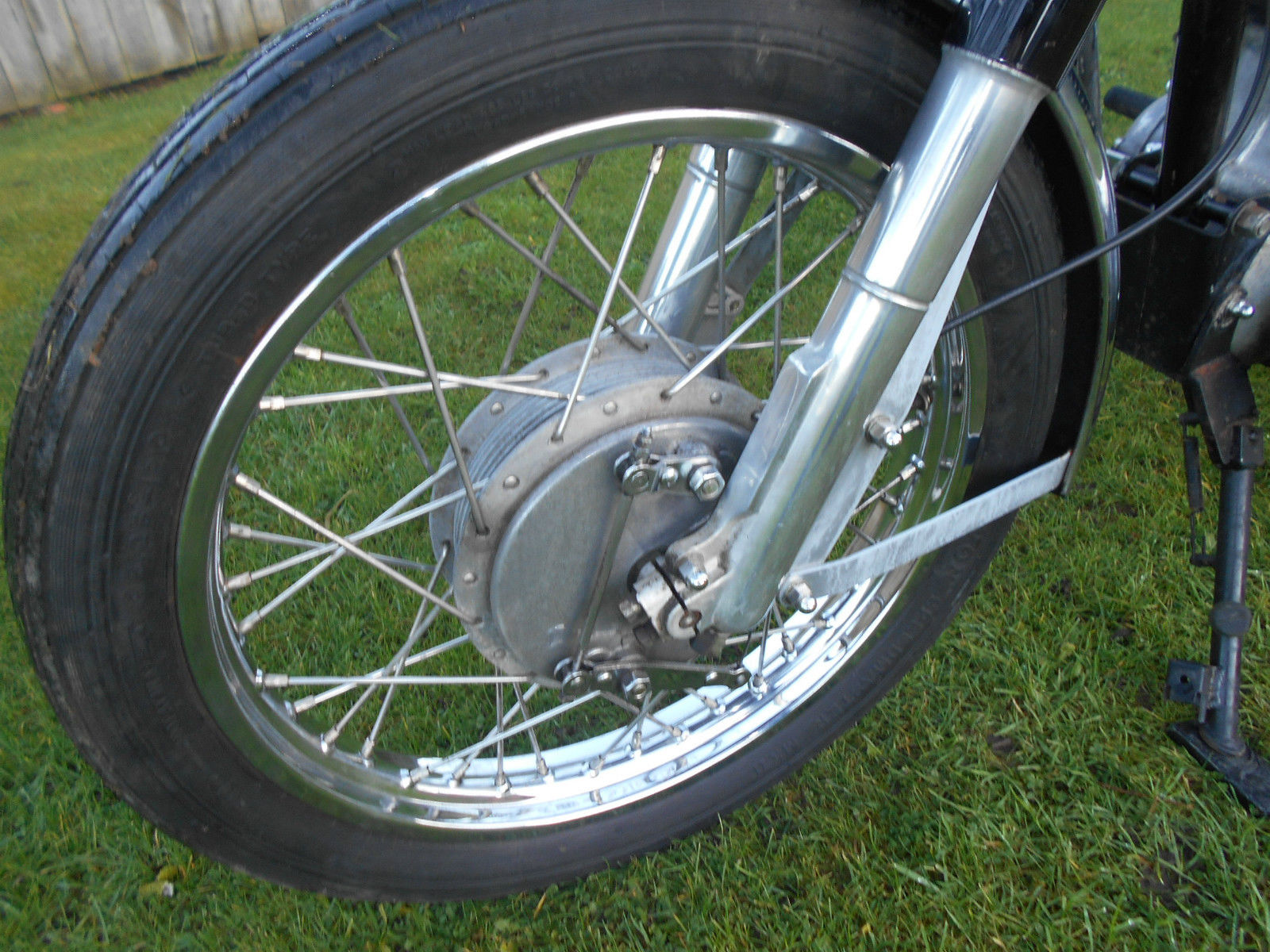 Royal Enfield 500 Bullet Cafe Racer Alloy Tank Goldie Pipe Looks