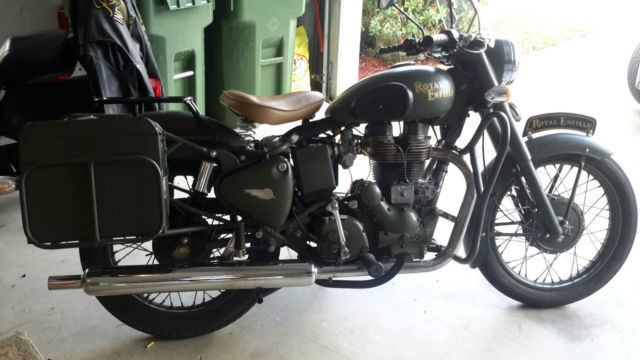 Royal Enfield Bullet 500 Classic Military Green