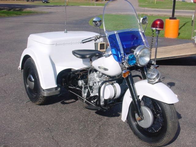 SERVI-CAR POLICE HARLEY SERVICAR FLATHEAD 45 WL WLA VINTAGE ... on