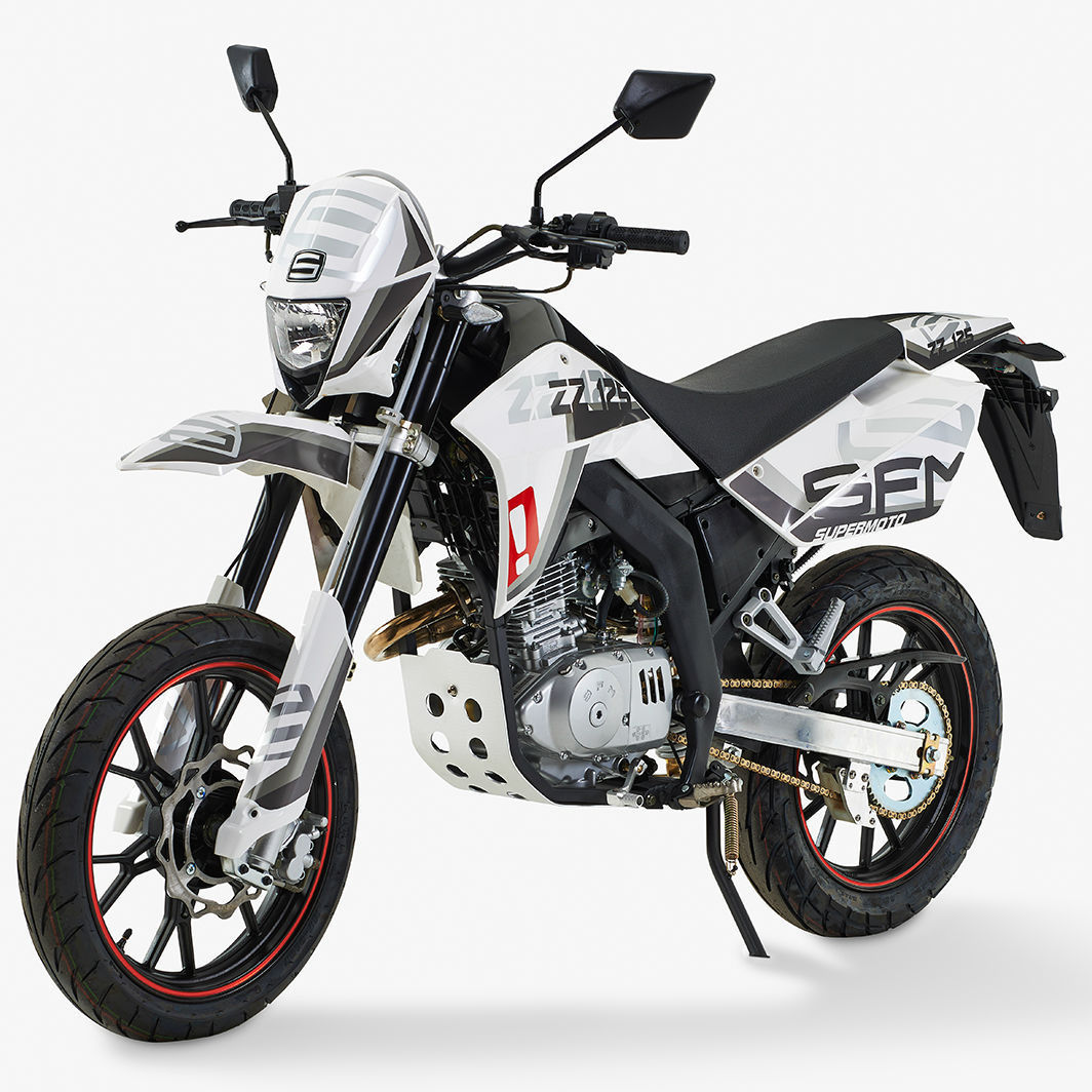 sfm zz125 supermoto 125 learner legal commuter supermoto. Black Bedroom Furniture Sets. Home Design Ideas