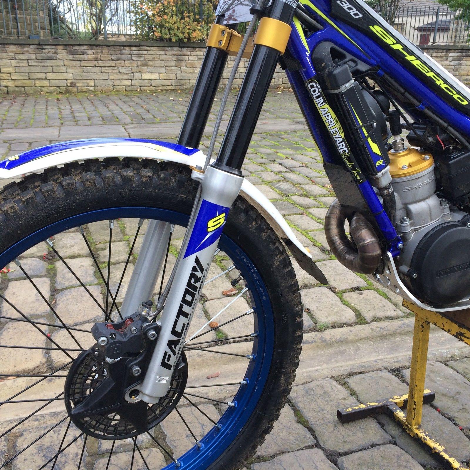 Sherco Factory Trials Bike 2014