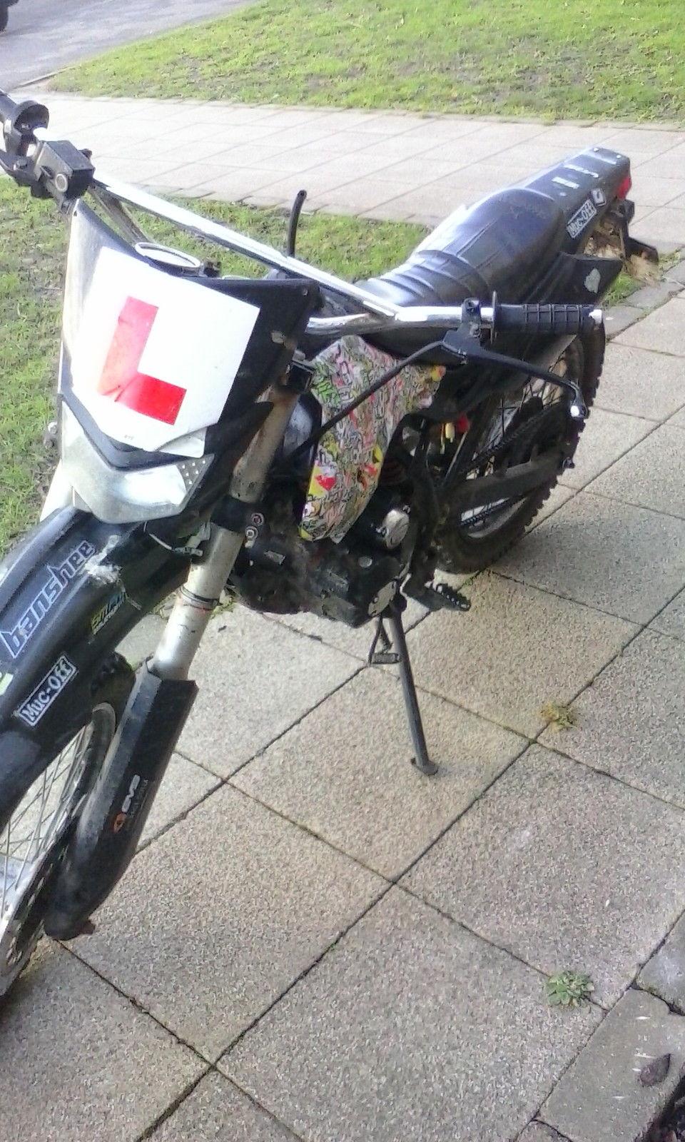 Shineray 125cc Trail Bike 2008 Spares  Repair
