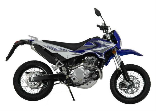 Sinnis Apache 250cc Efi Supermoto Motorcycle    Motorbike
