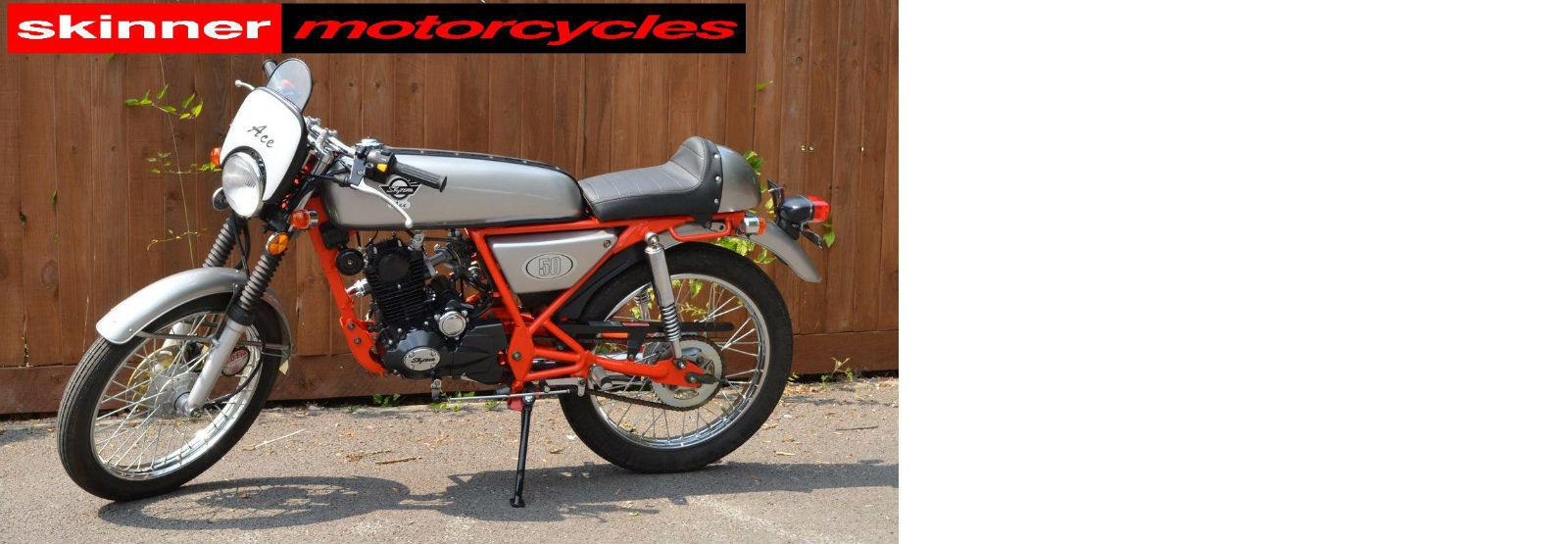 skyteam ace 50 brand new cafe racer learner legal. Black Bedroom Furniture Sets. Home Design Ideas