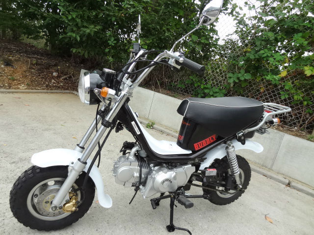 skyteam bubbly 125cc monkey bike rare brand new machine. Black Bedroom Furniture Sets. Home Design Ideas