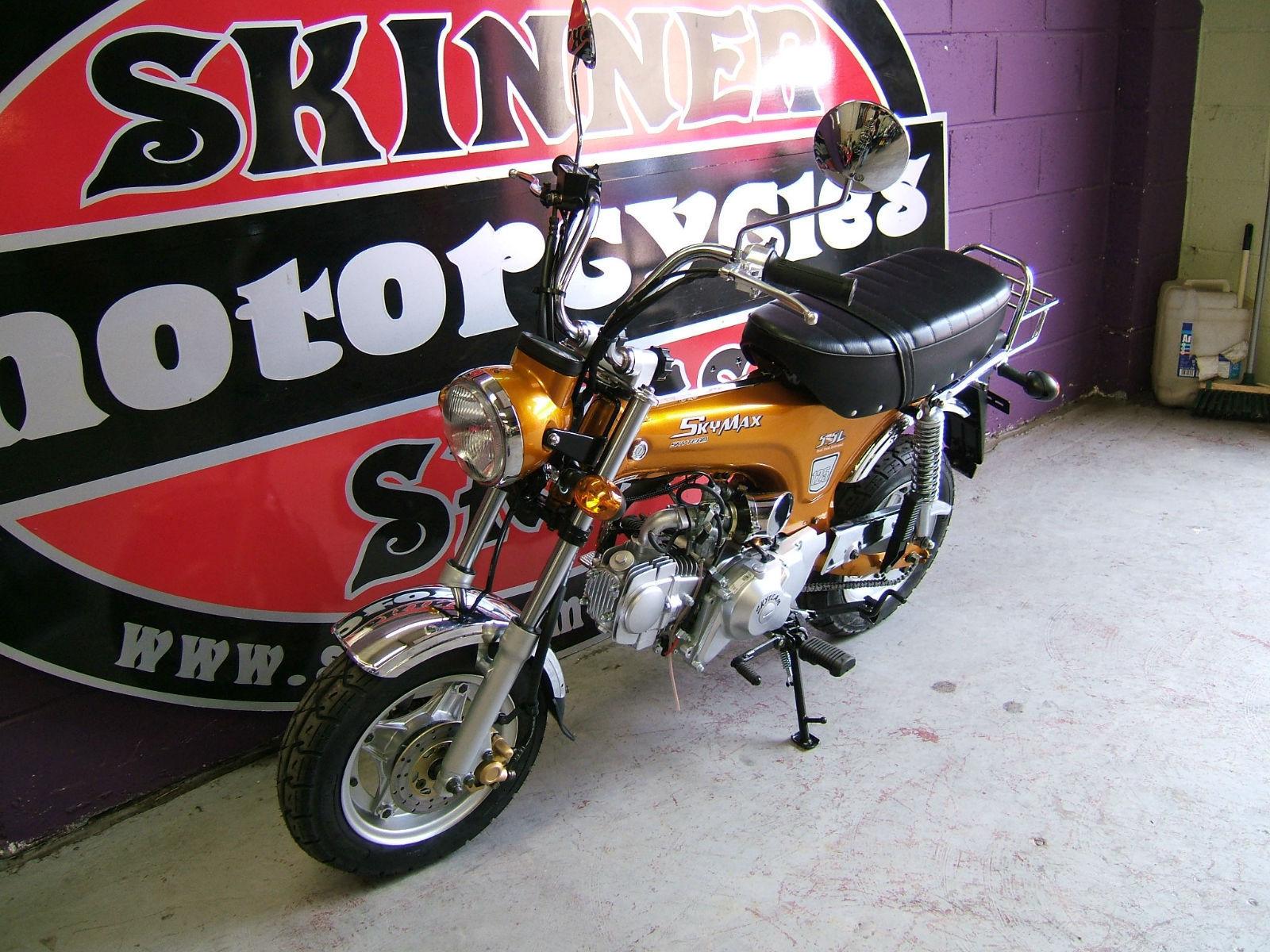 skyteam skymax 125 brand new learner legal honda dax style 125cc gold. Black Bedroom Furniture Sets. Home Design Ideas