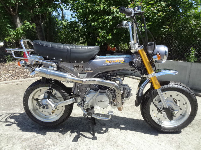 skyteam skymax pro 125cc rare brand new machine honda dax st70 based stunning. Black Bedroom Furniture Sets. Home Design Ideas