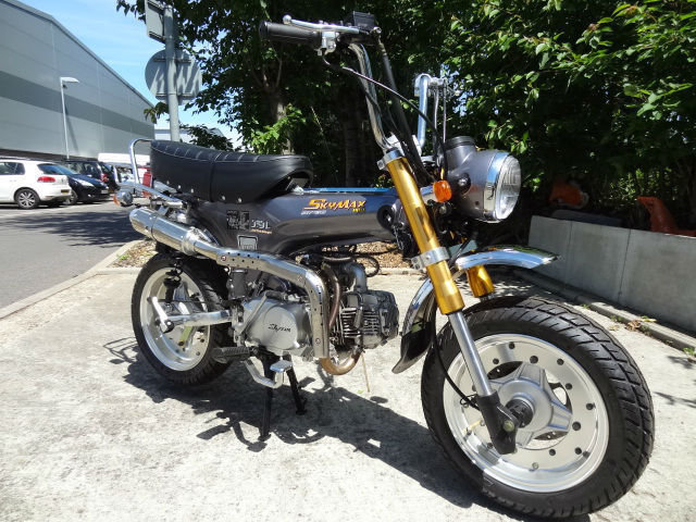 skyteam skymax pro 125cc rare brand new machine honda dax. Black Bedroom Furniture Sets. Home Design Ideas