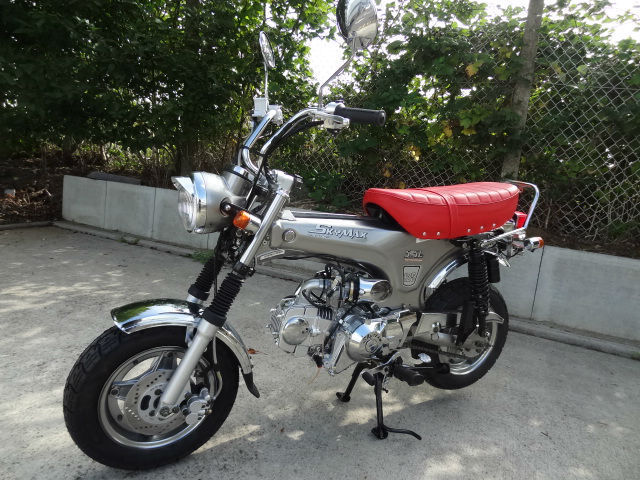 skyteam skymax se 125cc rare brand new machine honda dax st70 based stunning. Black Bedroom Furniture Sets. Home Design Ideas