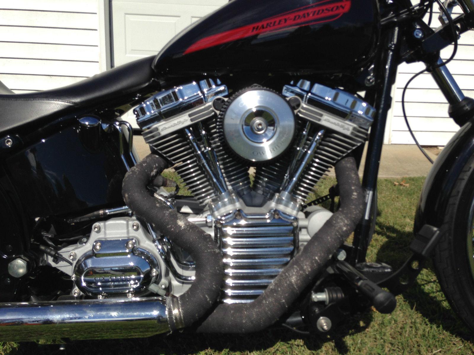 Softail Standard Se 113 Engine Many Custom Touches