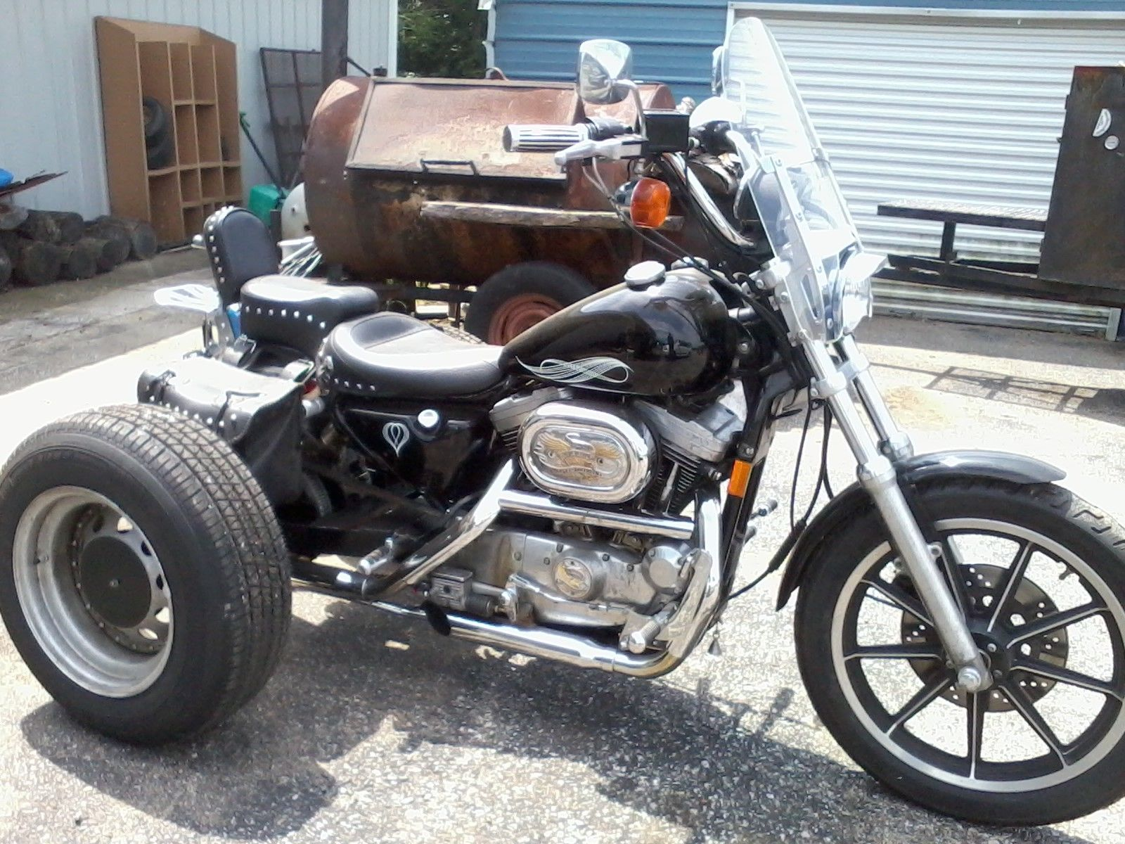 Harley Davidson Sportster Trike Kit Car Interior Design