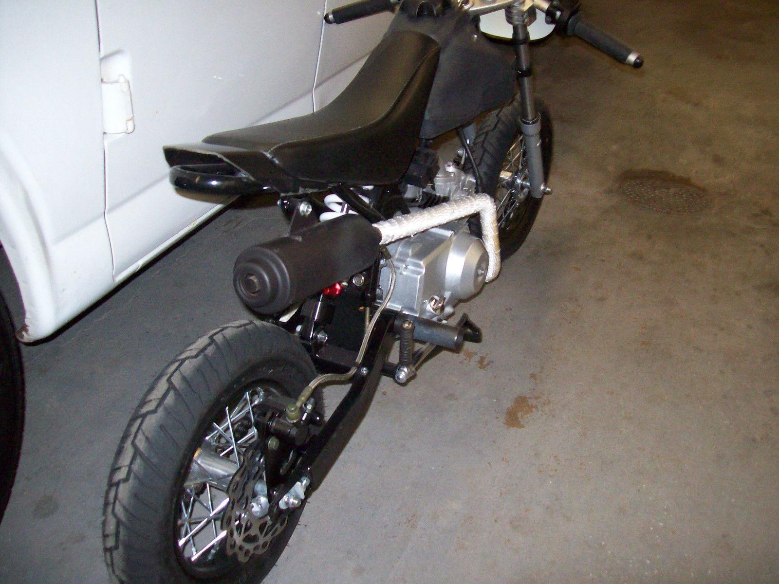 Ssr Pit Bike Honda Crf Mini Bike Cafe Racer Mini Trail Minibike Pitbike on 1971 Honda Ct70