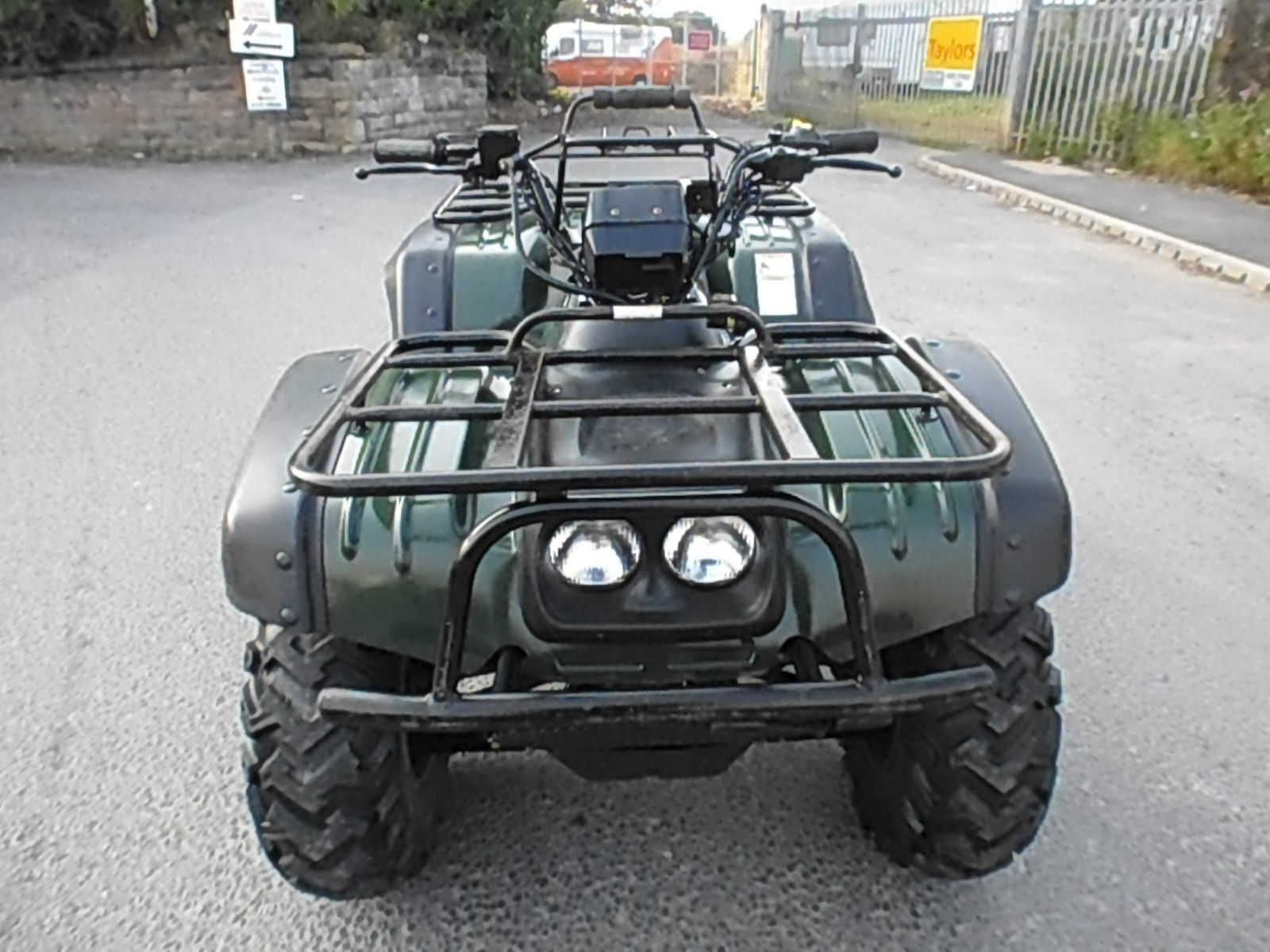 susuki king quad 4x4 farm quad bike atv farm smallholding no vat. Black Bedroom Furniture Sets. Home Design Ideas