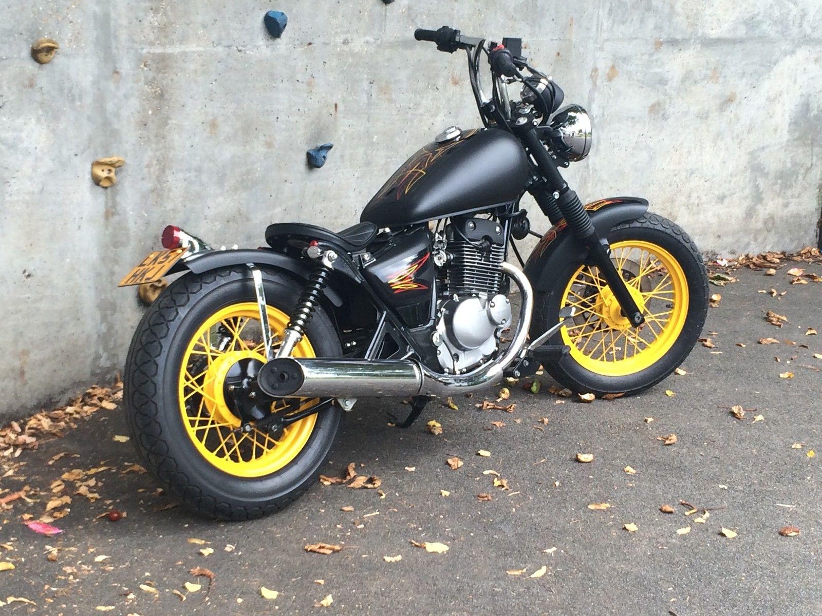 Suzuki 125cc Marauder Bobber