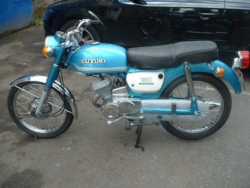 suzuki b120 student 1976  r   restored few years ago