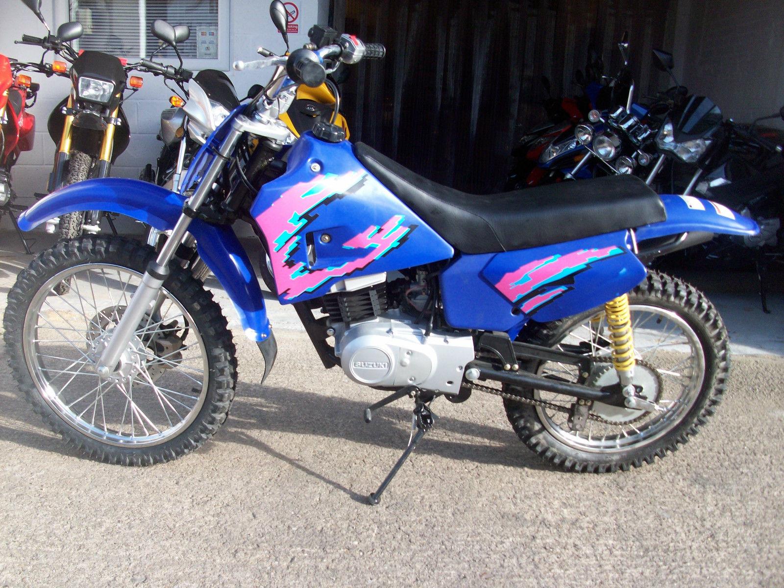 Suzuki cougar 100cc 2 stroke kids child adult pit bike for 100cc yamaha dirt bike