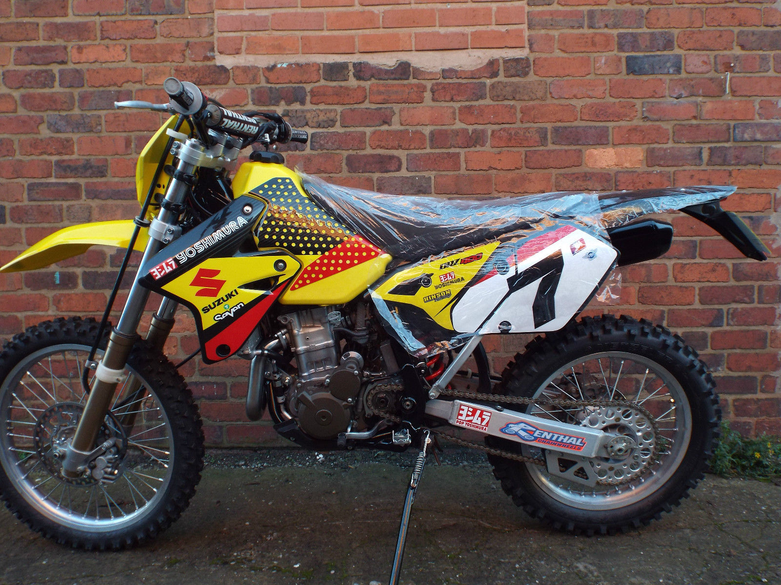 suzuki drz 400 e drz400 enduro bike fully rebuilt restored not ktm crf kxf rmz. Black Bedroom Furniture Sets. Home Design Ideas