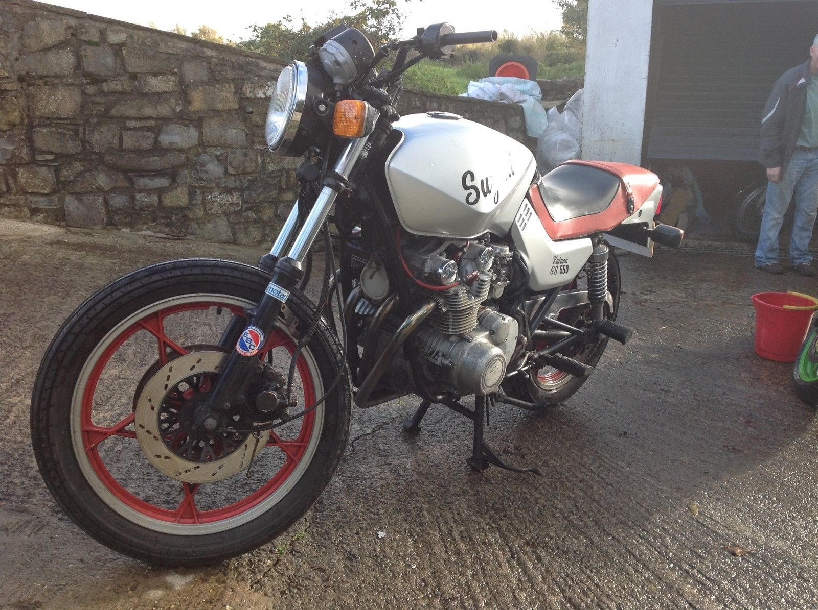 Suzuki GS550 MX Katanas (x2 bikes for sale)