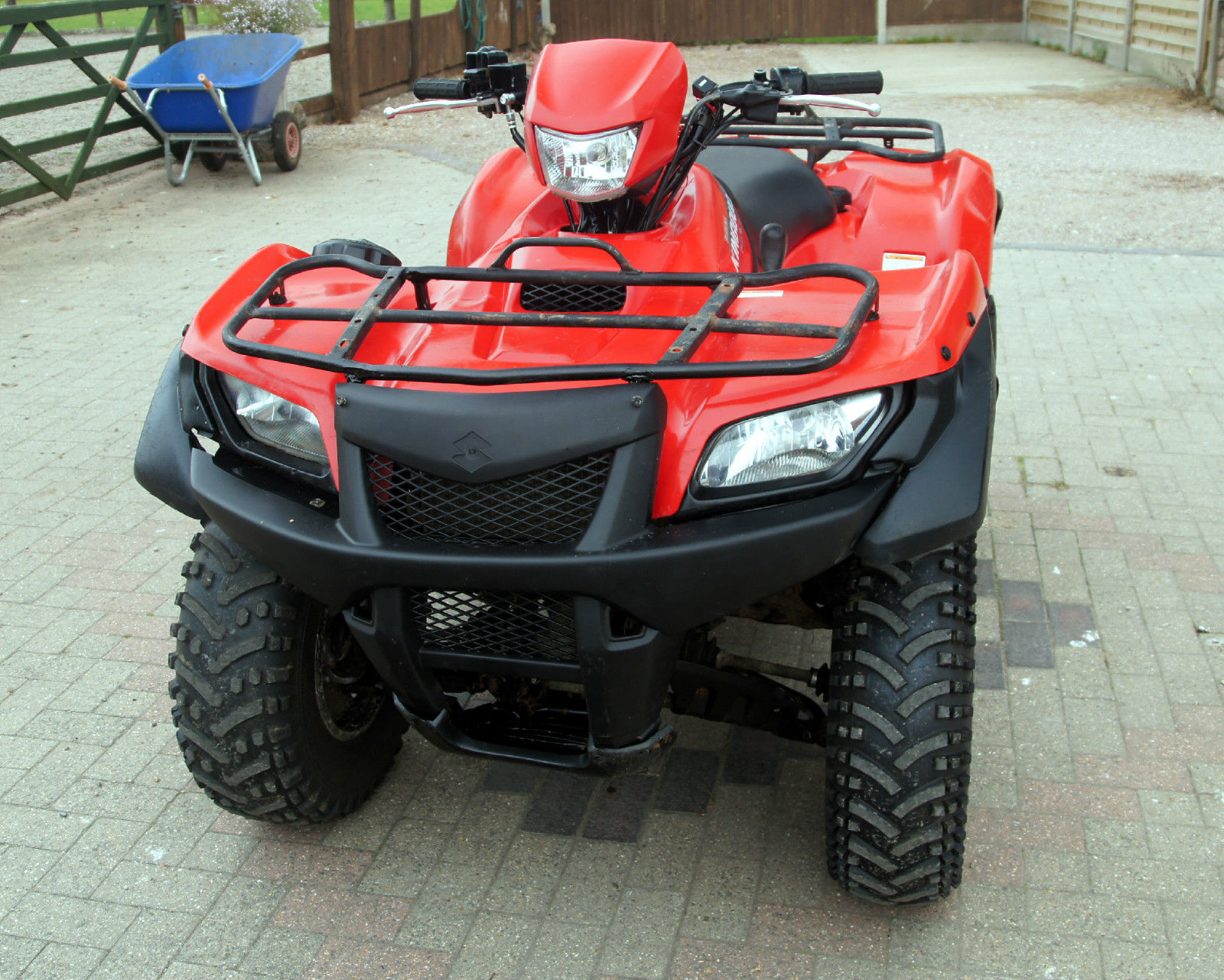 Four Wheeler With Rims: SUZUKI LTF 700X KING QUAD 2008 4 WHEEL DRIVE QUAD