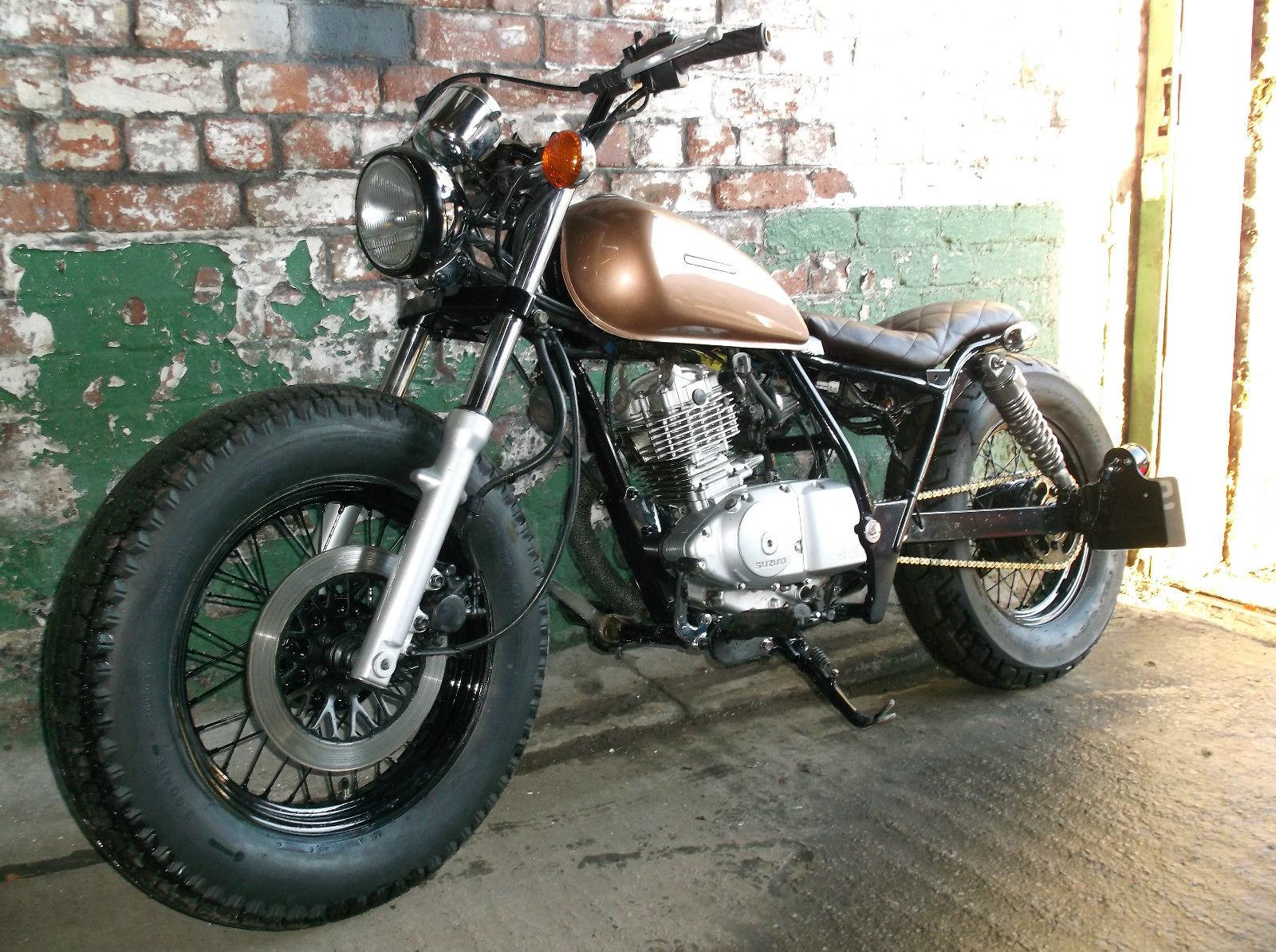 suzuki marauder gz gn 125 custom bobber tracker motorcycle 12 suzuki marauder gz gn 125 custom bobber tracker motorcycle