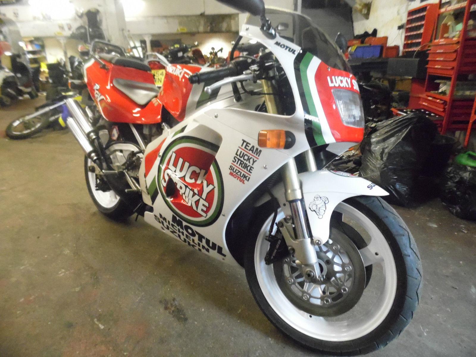Suzuki Rgv 250 Lucky Strike 12 000 Miles
