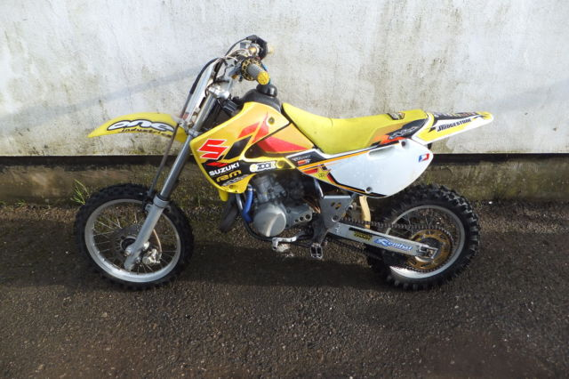 Suzuki Rmcc Similar To Kx65 2005 All Working Great Very Fast Dirt Bike