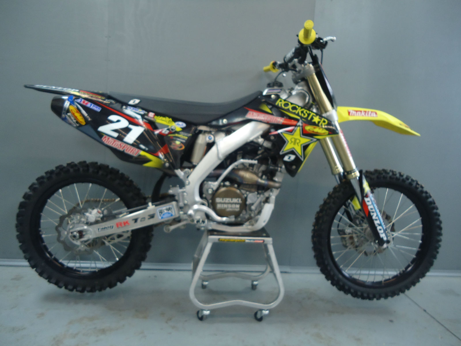 suzuki rmz 250 2013 michael ex jason anderson rockstar. Black Bedroom Furniture Sets. Home Design Ideas