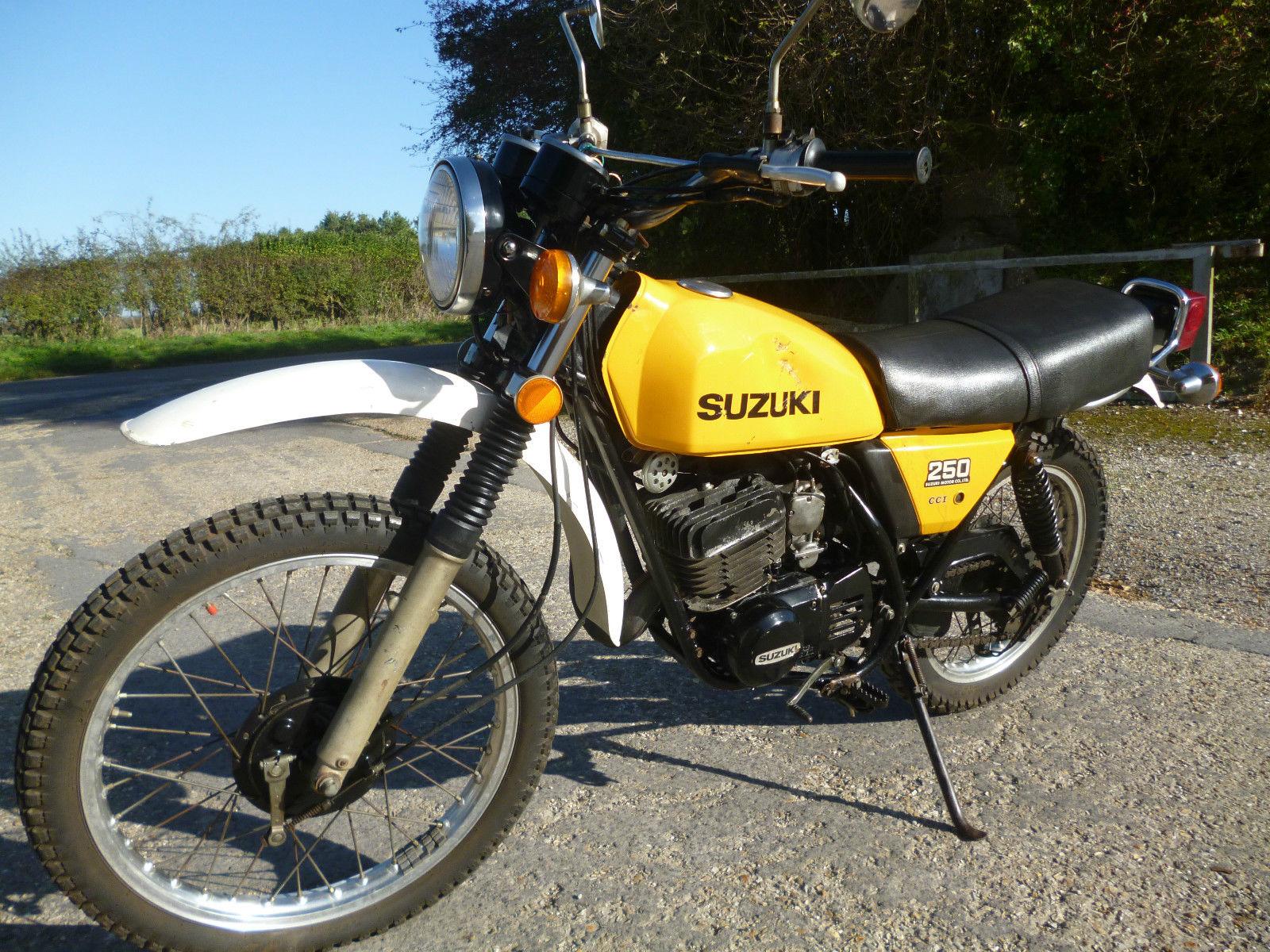 Suzuki ts250 classic trail 1978 dt xl ke