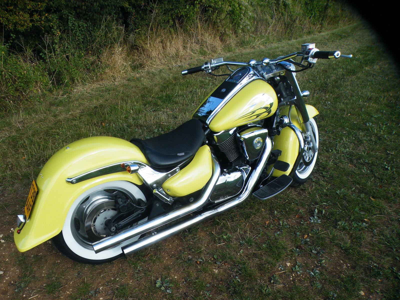 2002 Suzuki Intruder LC VL 1500 Motorcycle From