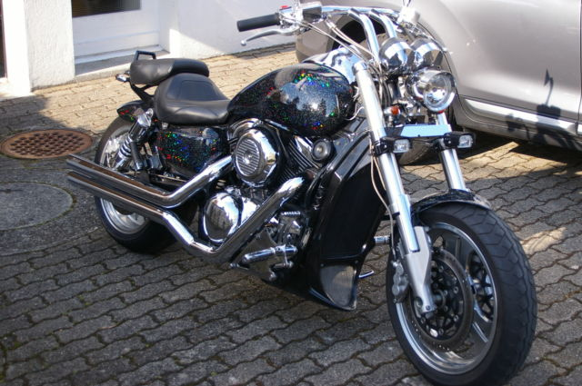Suzuki VZ1600 Marauder /Kawasaki VN1600 Mean Streak cruiser/custom/bobber