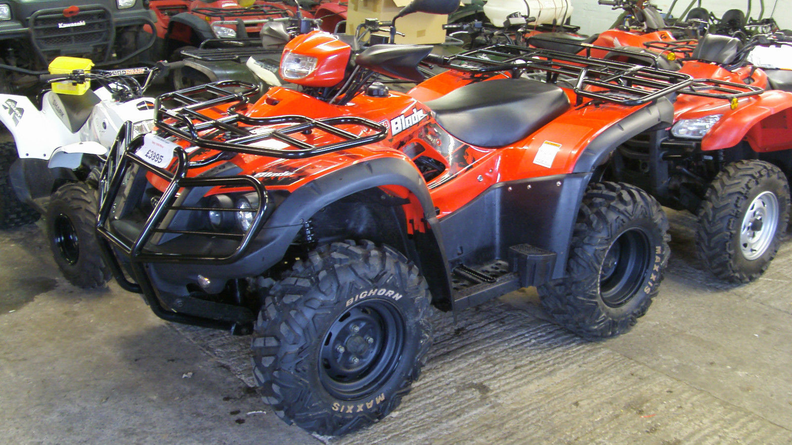 tgb blade 425 sl 4x4 2011automatic 61 plate road legal quad bike atv low miles. Black Bedroom Furniture Sets. Home Design Ideas