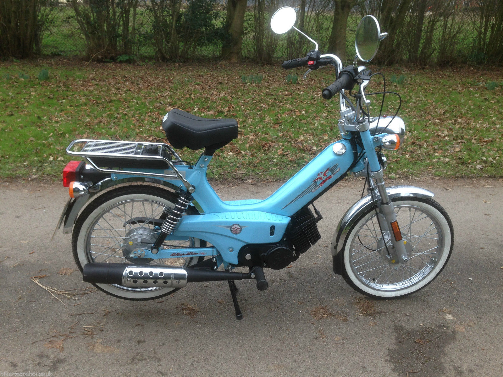 tomos classic scooter 50 moped auto free delivery 5 year