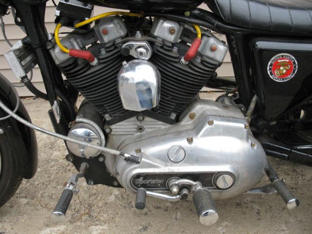 Trike 1979 Sportster Ironhead 4 Speed Chopper Bobber Custom Harley Davidson 1000