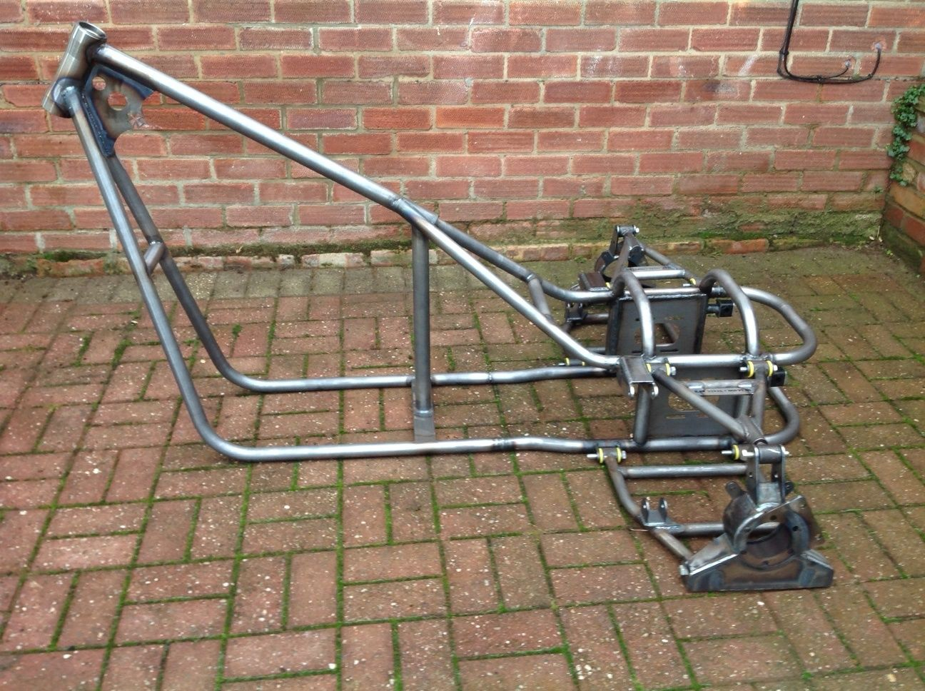 Trike Frame Chassis Soft Tail