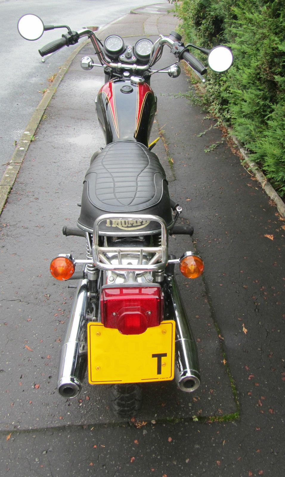 Triumph Bonneville T140 Motorcycle 750cc 1978 Restore Or Ride