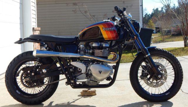 Triumph Scrambler Custom by Mule Motorcycles